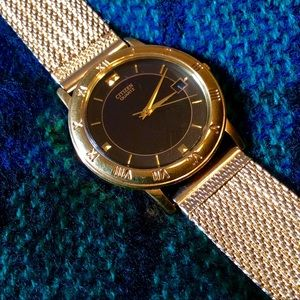 Gold Tone CITIZEN Quartz Watch